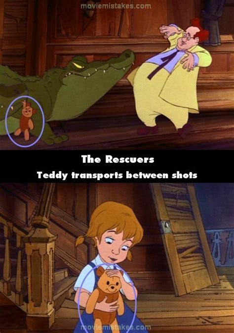 The Rescuers (1977) movie mistake picture (ID 79667)