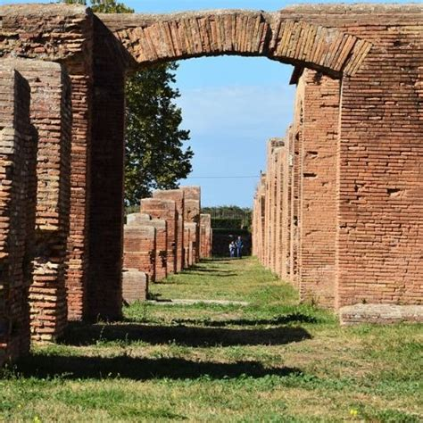 ostia antica grass path - Disabled Accessible Travel