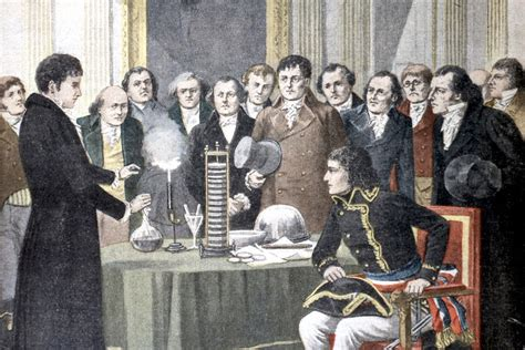 How Alessandro Volta invented the battery and won over