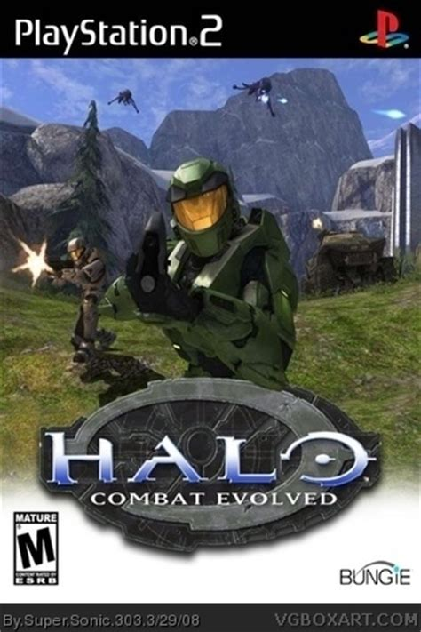 Halo Combat Evolved PlayStation 2 Box Art Cover by Super