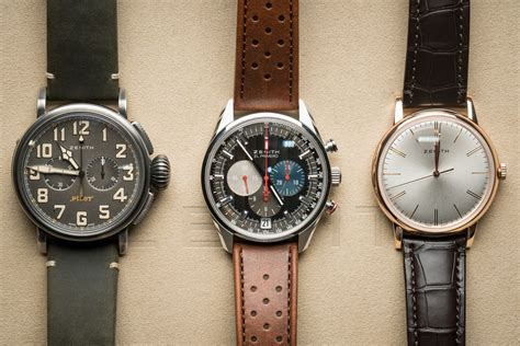 Baselworld 2016: Five New Zenith Watches From The Pilot