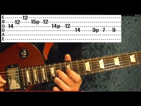 10 Must Learn Blues Riffs - Guitar Lesson - YouTube