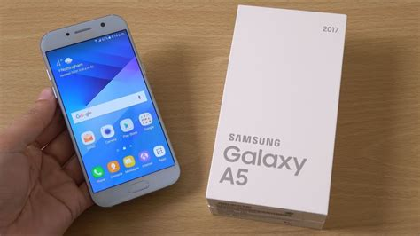 Samsung Galaxy A5 2017 - Unboxing & First Look! (4K) - YouTube