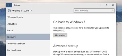 How to Downgrade Windows 10 to Windows 7 or 8