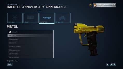 Halo: MCC - How To Unlock Gold Weapon Skins Easily