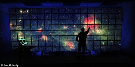 Outer space: Nasa's multi-screen wonder wall | Daily Mail