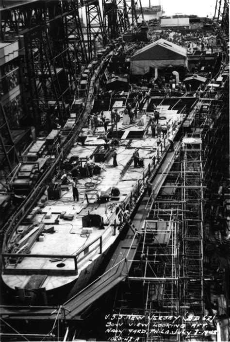 Pictures of the Battleship New Jersey (BB-62)