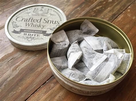 Crafted Snus: Whisky (Old Reviews)