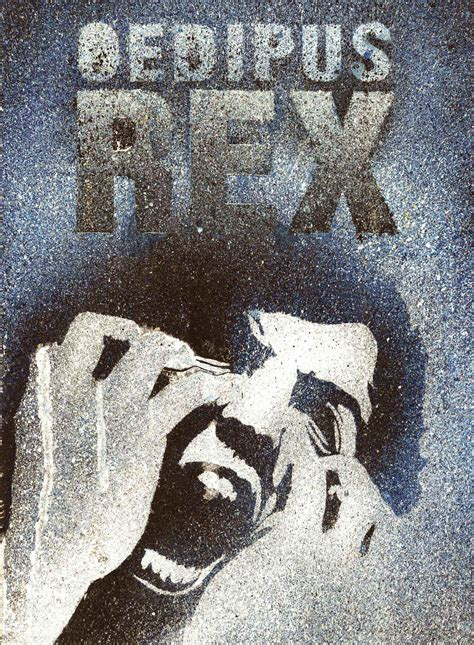 Red in Tooth and Claw: Oedipus Rex Theatrical Poster