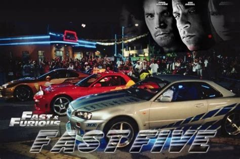 Fast And Furious: Fast Five Poster Released News - Top Speed