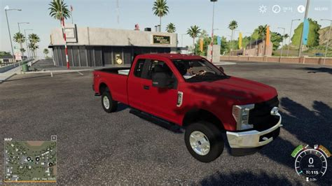 FS19 – 2017 Ford F250 Fixed V2 | Simulator Games Mods Download