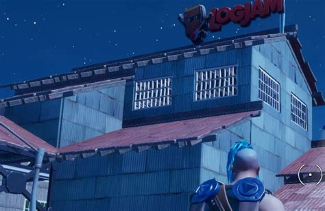 Fortnite: Land at The Rig, Hydro 16, and Logjam Woodworks
