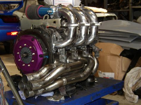 Building a 3 rotor engine with RX8 parts