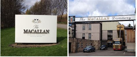 Distillery and Contact Details for The Macallan Scotch