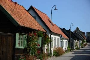 13 July 2013 Visby, Sweden: The Island of Roses, Ruins