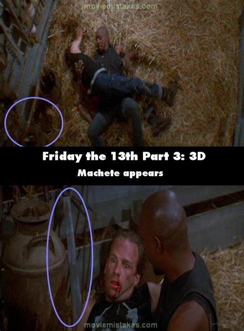 Friday the 13th Part 3: 3D (1982) movie mistake picture
