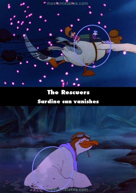 The Rescuers (1977) movie mistake picture (ID 99759)