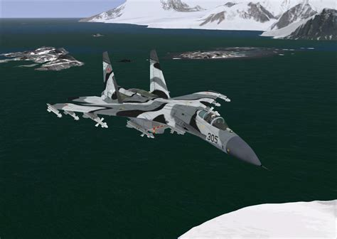 Russian Air Force Sukhoi Su-27 Flanker for FSX