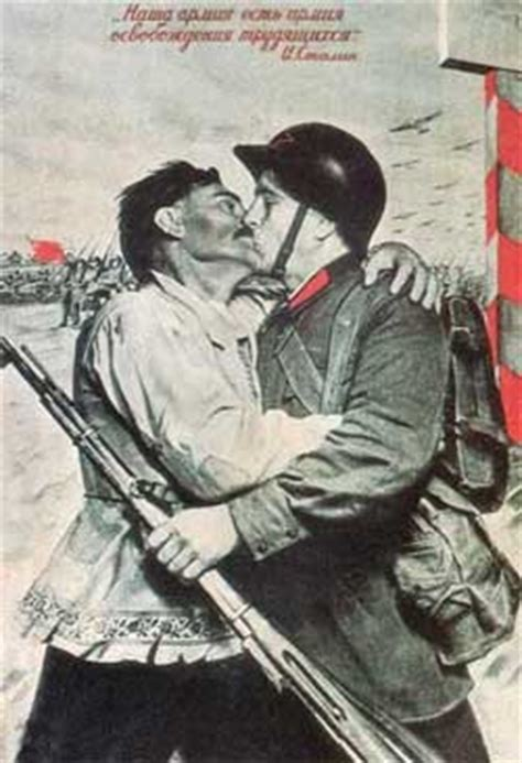 Soviet WWII Poster - Our army is an army that liberates