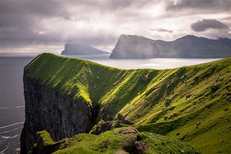 High cliffs | Located on Kalsoy Island