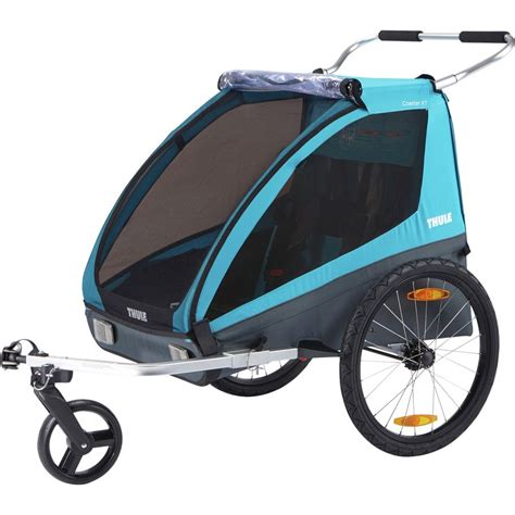 Thule Chariot Coaster XT + Bicycle Trailer Kit & Stroller