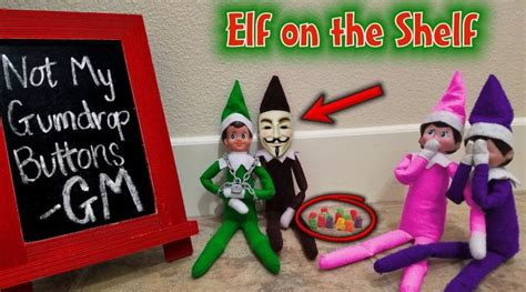 Evil Elf on the Shelf Disguised as Game Master!!! Mad