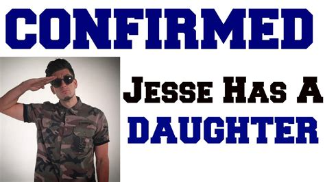 JESSE HAS A DAUGHTER CONFIRMED - YouTube