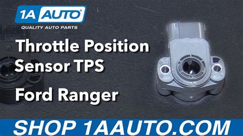 How to Install Replace Throttle Position Sensor TPS 2001