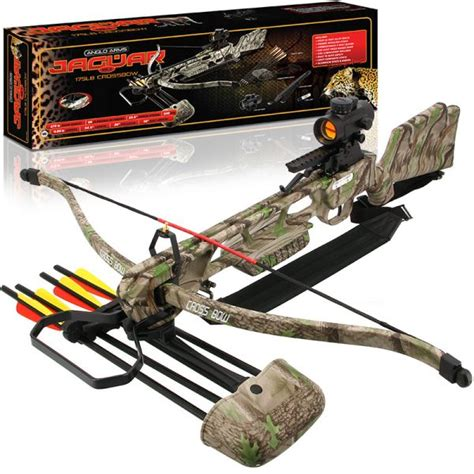 Anglo Arms Jaguar 175LB Crossbow With Red Dot Sight