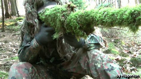 Ghillie Suit Tips - Different Ways to camouflage Equipment