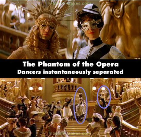 The Phantom of the Opera (2004) movie mistake picture (ID