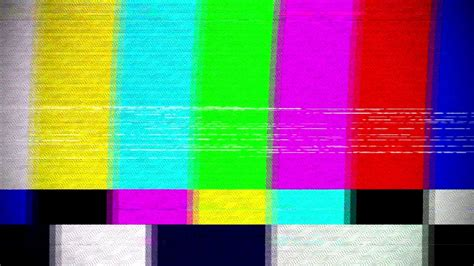 No signal TV Effect - YouTube
