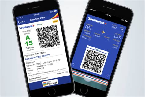 Southwest Airlines Launches Mobile Boarding Passes for