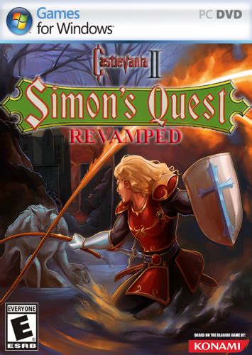 Castlevania 2 - Simons Quest Revamped Game Media (PC) (Fan
