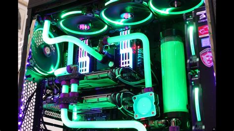 Thermaltake Core V71 Custom Water Cooled PC Build - YouTube